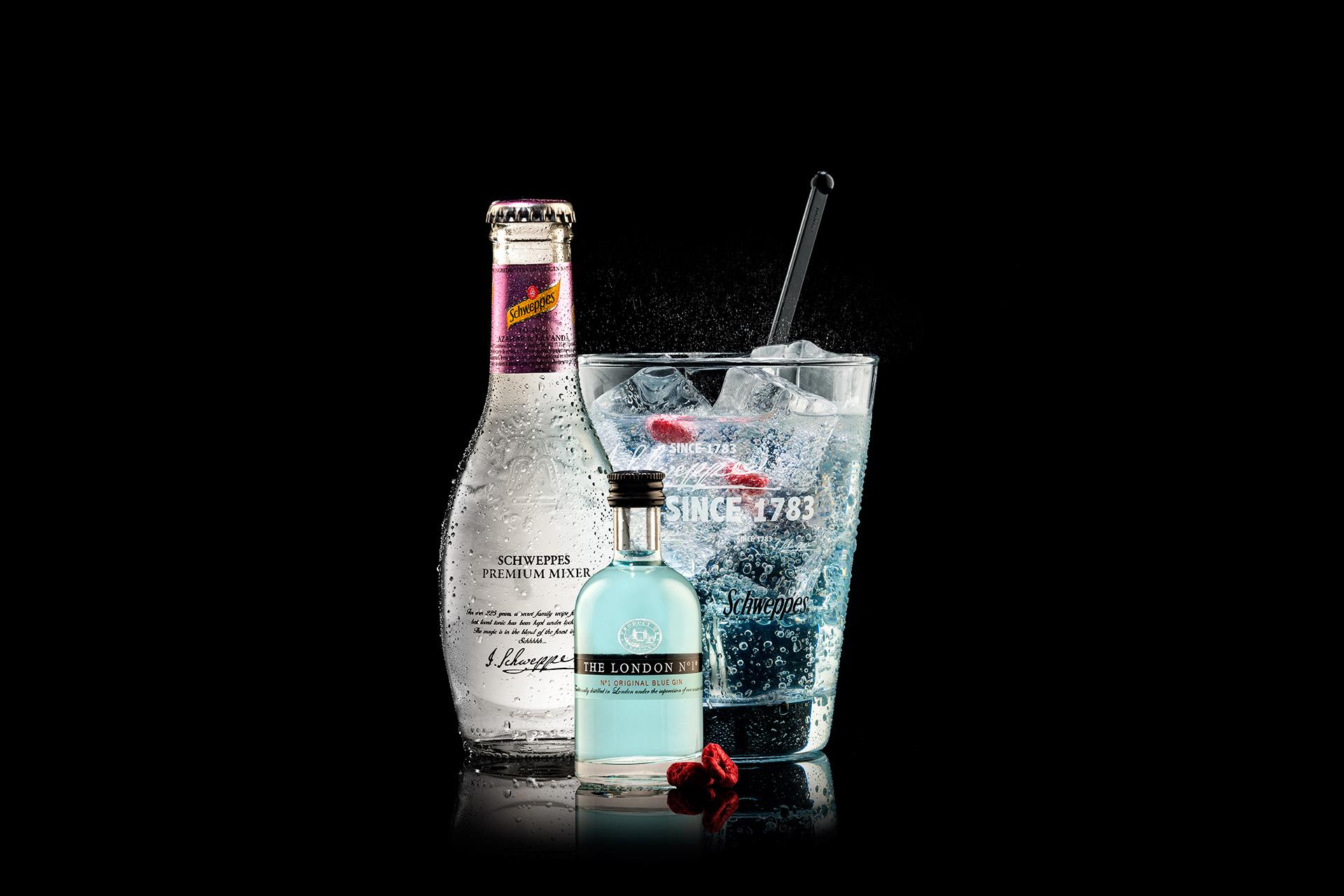 London N1 Gin schweppes